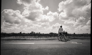 001多摩川/夏雲